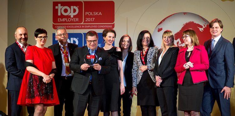 Top Employer Polska 2017 dla Orange Polska