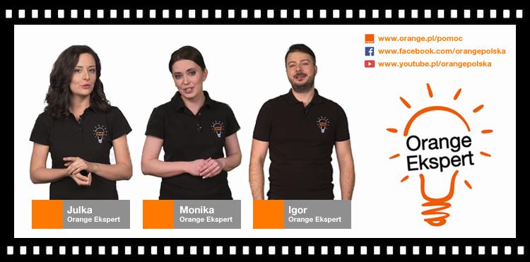 Nowa seria filmów z Orange Ekspertami