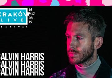 Calvin Harris kolejnym headlinerem Kraków Live Festival 2019