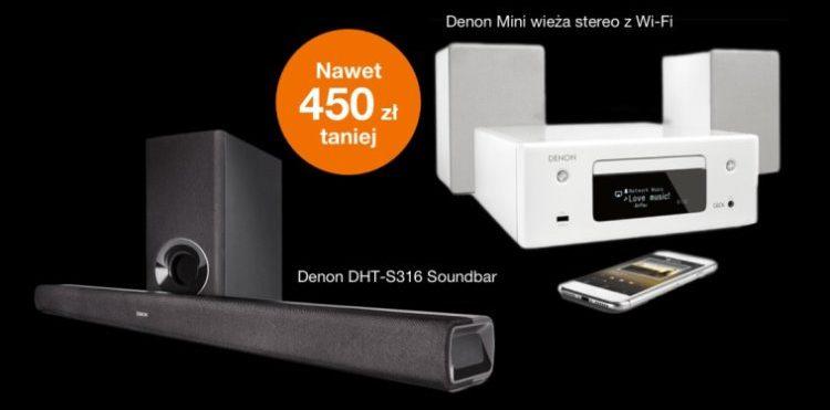 Oferta tygodnia: sprzęt marki Denon