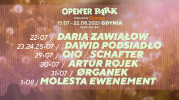 Open'er Park – siedmioro nowych artystów! Aż 3 koncerty Dawida Podsiadło